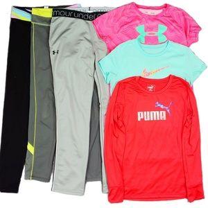 Girls Active Wear Lot Size 12 / 14 Nike Ivivva